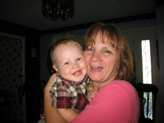 Barrie, Canada: Ryan and Grandma