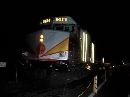 Flagstaff, AZ: The train - Grand Canyon Railway - Polar Express!