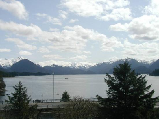 Sitka, AK: The best view overlooking the channel