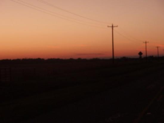 Commerce, TX: Country sunset