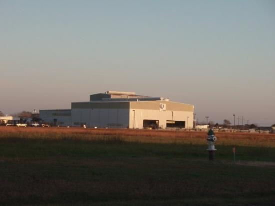Commerce, TX: The Hydro Plant where David's Mom works.