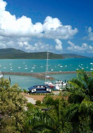 Airlie Beach, Australia: Abel Point from Brents Condo