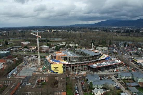 Eugene, OR: Pic taken of my job about a week ago.  only 296 days left until i can go home.