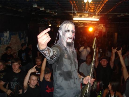 Me onstage in Amarillo, Texas