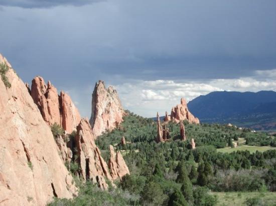 @ Garden of the Gods in Colorado Springs, CO