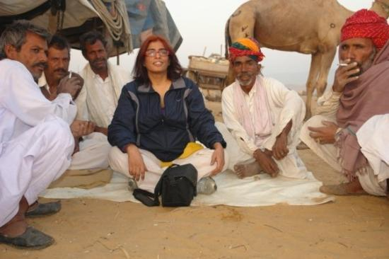 Pushkar, India: hanging out with the boys