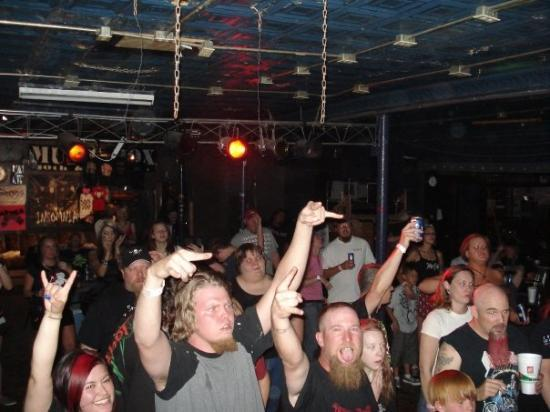 The crowd in Amarillo, TX