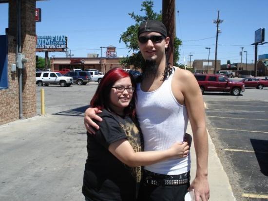 My friend Samantha from Amarillo
