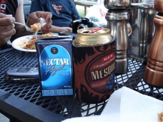 New Braunfels, TX: Nectar Azul is straight GASOLINE, EWWW