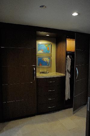 ARIA Resort & Casino: Foyer and closets