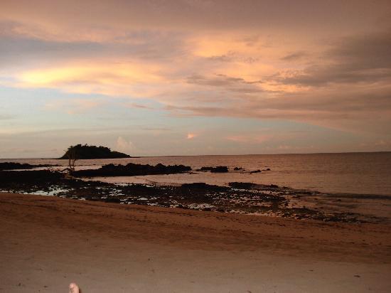 tramonto spiaggio hotel