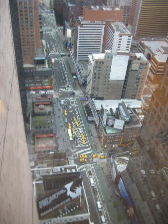 Crowne Plaza Times Square Manhattan: Hotel View