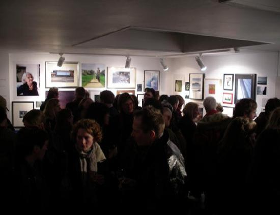 Private view at the Viewfinder Photography Gallery