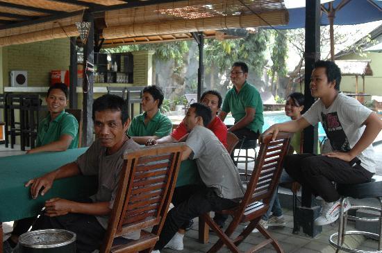 Puri Etnik Hotel: stafvergadering