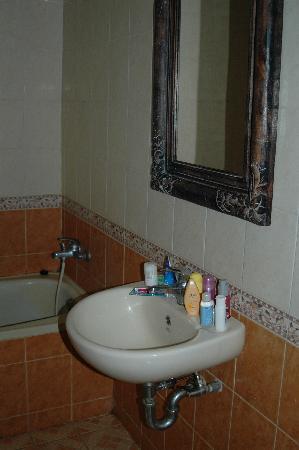 Puri Etnik Hotel: badkamer