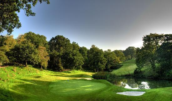 Just one of the spectacular views of St Mellion International Resort.