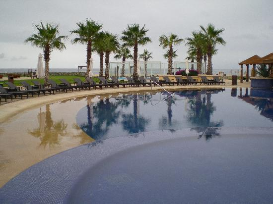 One of the two pools