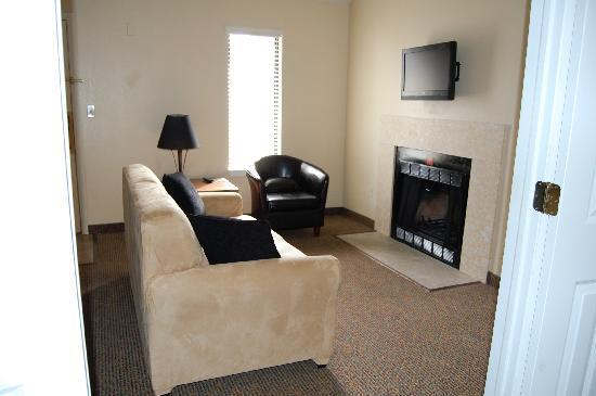 Loft suite living room 1