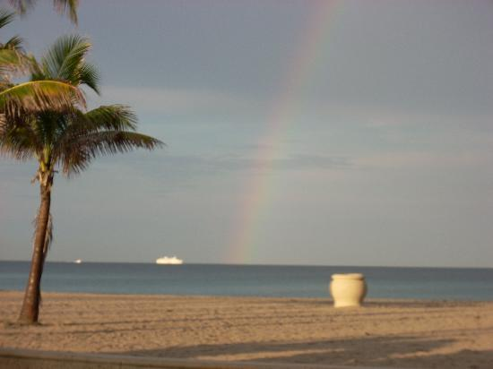 Hollywood Beach: this was in July after a thunderstorm