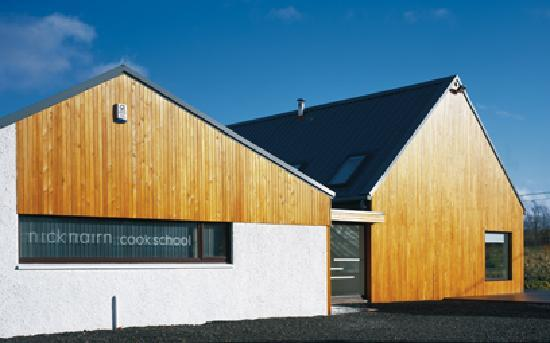 The exterior of our purpose built cook school
