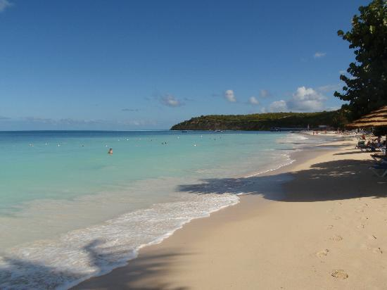 The unspoiled beach