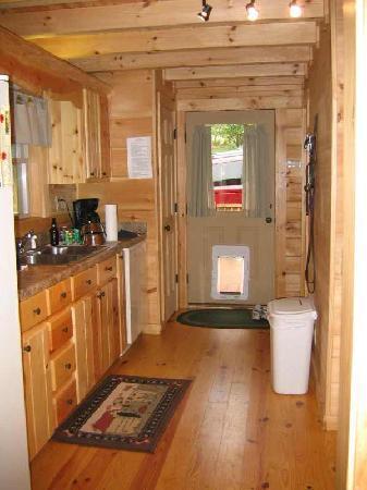 Kitchen & doggie door