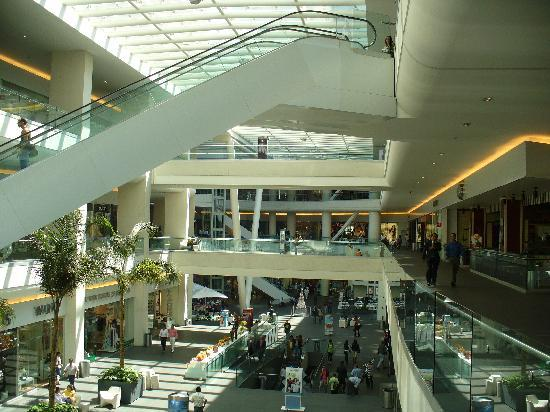 Reforma 222 shopping center is across street