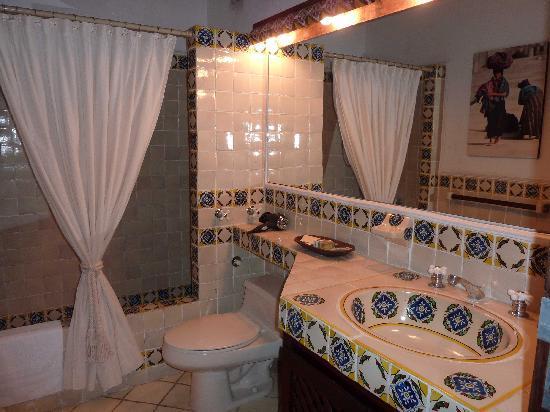 Un Paseo Por La Antigua: Salle de bains