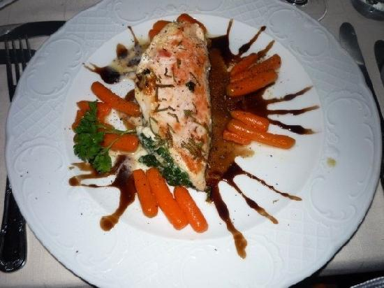 Wonderful dinner at the Hotel restaurant