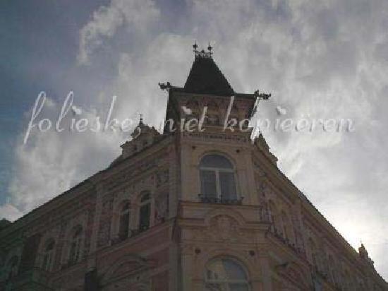 Ceske Budejovice, Czech Republic: architecuraly nice