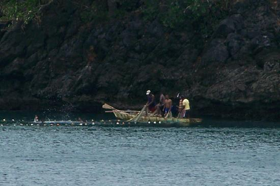 Santa Barbara de Samana, Dominican Republic: LOCALS FISHING