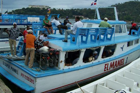 Santa Barbara de Samana, Dominican Republic: FERRY BOAT TO ST THOMAS