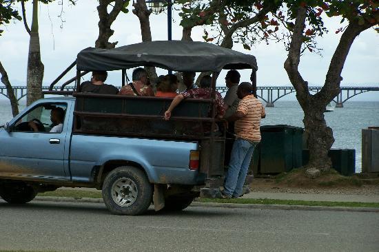 Santa Barbara de Samana, Dominican Republic: TOUR BUS