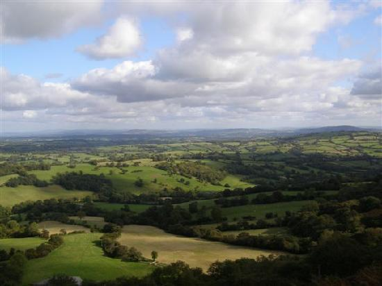 Vowchurch, UK: View from Hay Bluff which is nearby