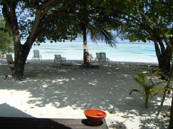 Oceanview from villa 188