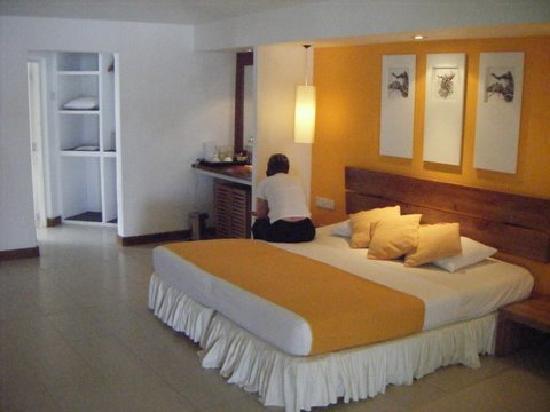 Inside villa 188