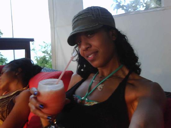 Having a strawberry/coco mix - a GeeJam