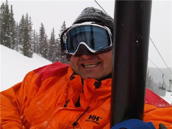 skiing at crested butte