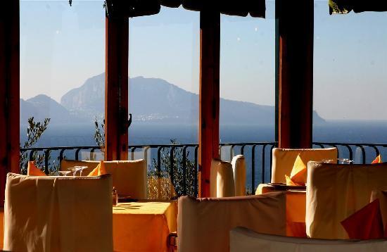 Antico Francischiello: Sea view on the Capri island
