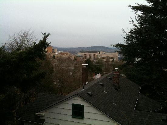 Inn at Marquam Hill: view from our porch/deck