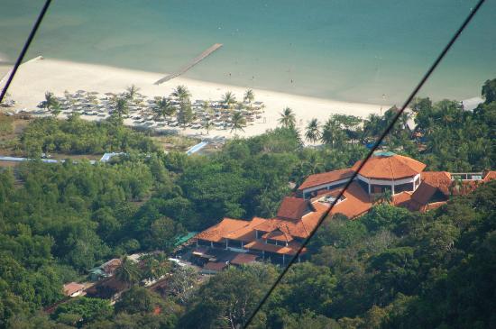Berjaya Langkawi Resort - Malaysia: view of Berjaya from cable car
