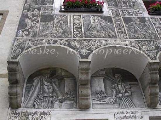 Slavonice, Tschechien: detail