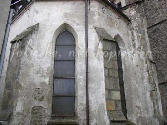 Slavonice, Tschechien: old church
