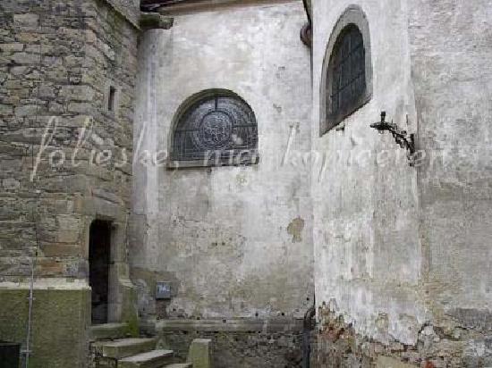 Slavonice, Tschechien: old church 2