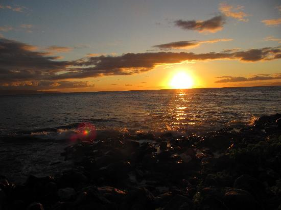 Maui Parkshore: sunset
