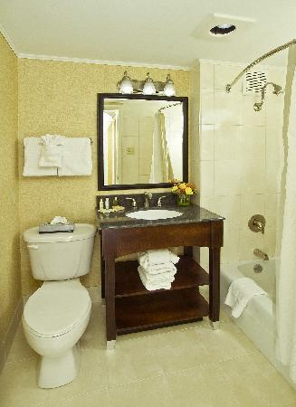Radisson Hotel Harrisburg: New Renovated Bathrooms