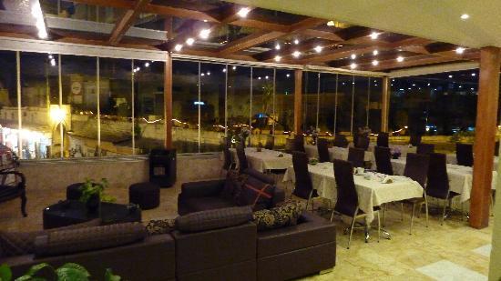 Jdayde Hotel : Breakfast area / lounge
