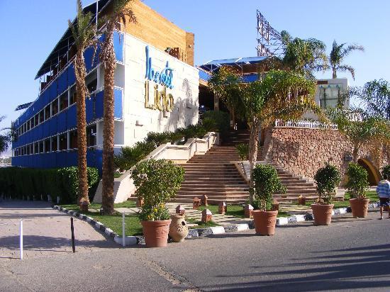 Lido Sharm Hotel: new entrance