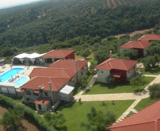 Vigla Village: air photo