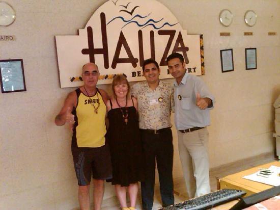 """Hauza Beach Resort: The Hauza """"Family"""""""